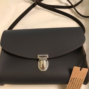 Cambridge satchel company crossbody bag NWT grey